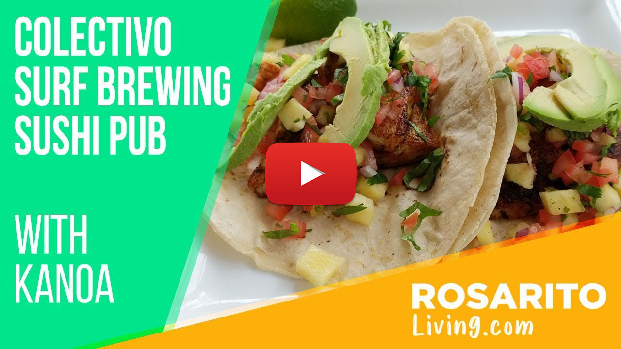 Colectivo Surf Brewing Sushi Pub - Rosarito Beach Restaurants
