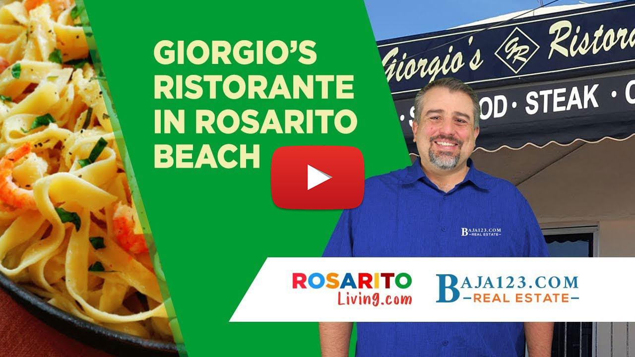Giorgio's Ristorante - Rosarito Beach
