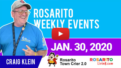 Rosarito Living Weekly Events