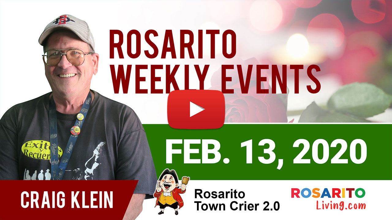 Rosarito Weekly Events February 13