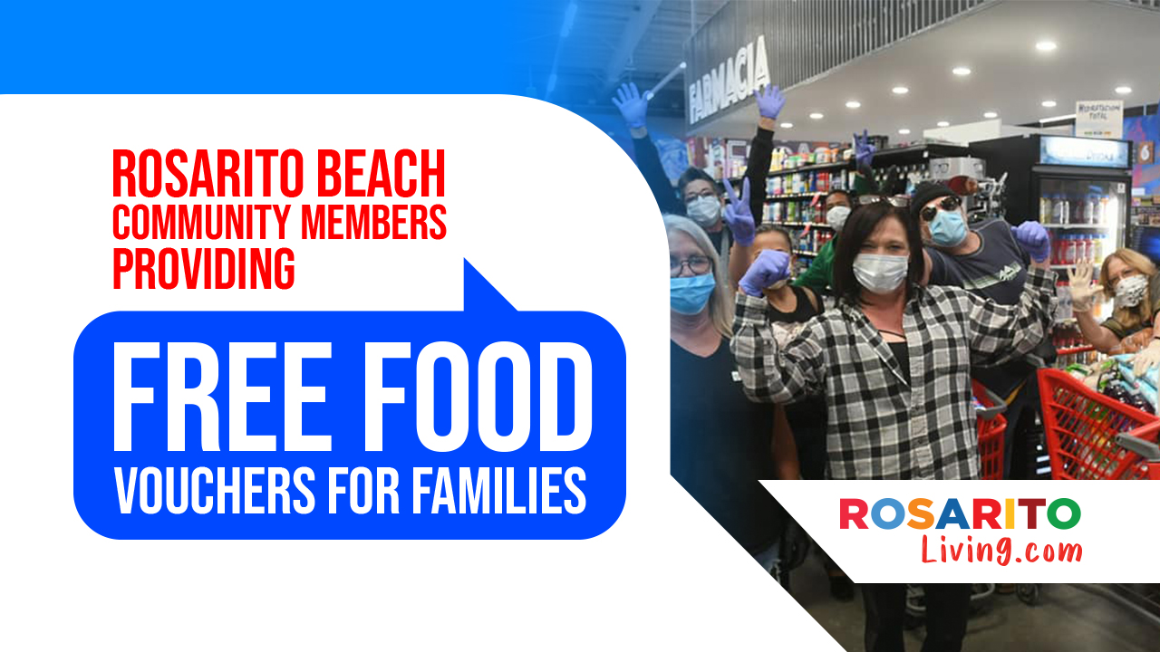 Free Food Vouchers in Rosarito Beach
